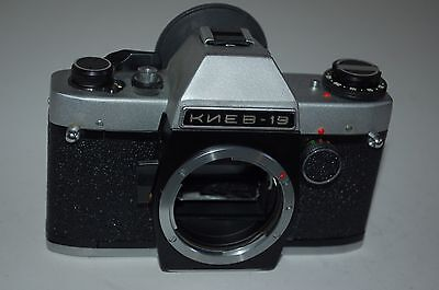 Kiev-19 Vintage Soviet SLR. Body Only. Tested with batteries. Serviced. 9014266