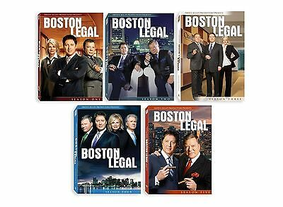 BOSTON LEGAL  The Complete Series   BRAND NEW  & SEALED