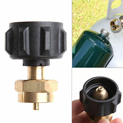 1LB Tank Gas Propane QCC1 Regulator Valve Propane Refill Adapter Outdoor BBQ Kit