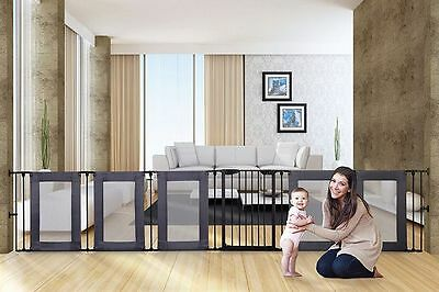 Dreambaby Brooklyn Converta playpen with mesh sides + 1 panel mesh extension