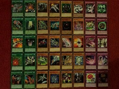 Yu-Gi-Oh Light and Dark Machine Deck - 40 cards complete BONUS 5 cards