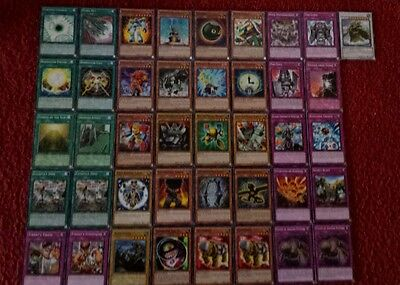 Yu-Gi-Oh Earth Rock Deck - 40 cards complete BONUS 5 cards