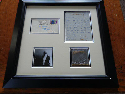 The Rolling Stones Autograph Brian Jones Letter And Lock Of Hair Sept 1964