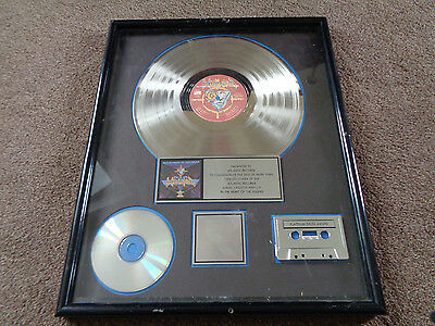 Winger In The Heart Of The Young Original Riaa 1 Million Sales Platinum Award