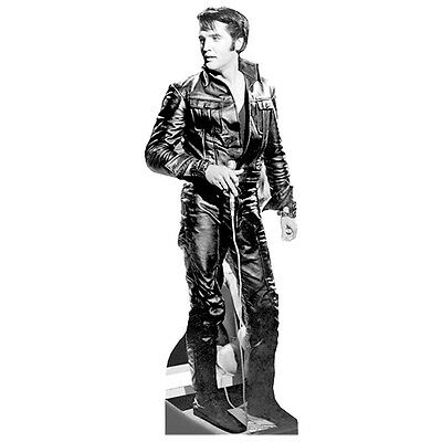 ELVIS PRESLEY Leather 68 Special CARDBOARD CUTOUT Standup Standee Poster F/S
