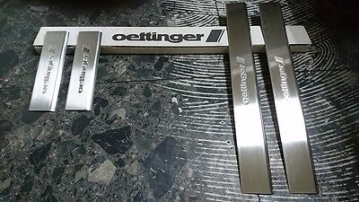 Geniune Oettinger A4 8E B6 B7 SS Door Sill Guard Set OE80426300