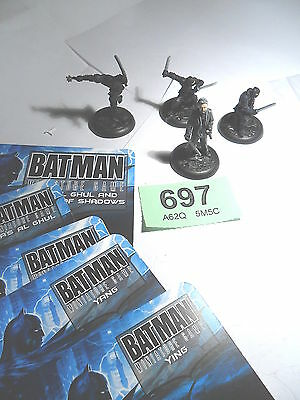 Knight Models Batman BMG Ra's al Ghul League of Shadows painted Lot 697