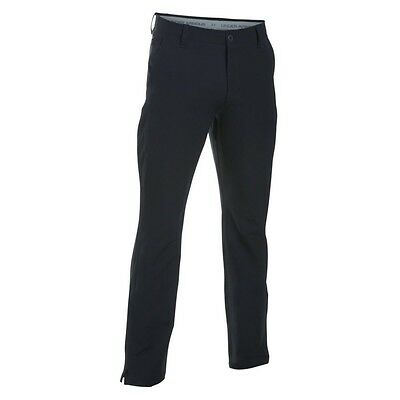 Under Armour Golf Cold Gear Matchplay Tapered Trousers 1284145 Black 32/30