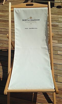 Moet Chandon Ice Imperial Champagne Sunny Day  Deckchair  Brand New X 1