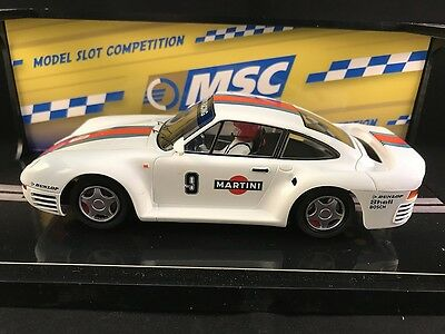 6041 Msc Porsche 959 Martini Racing  1:32 Slot Car