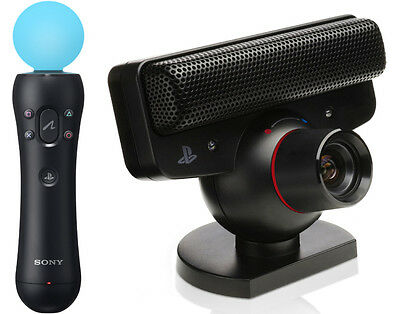 Ps3 Playstation 3 - Ps Move Starter Pack : Controller + Telecamera Eye + Gioco