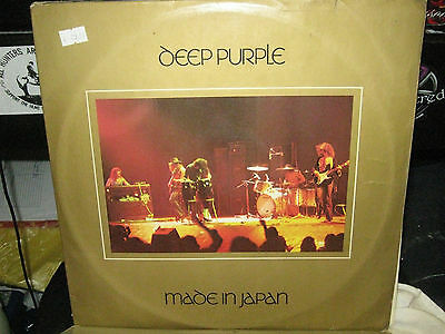 "Deep Purple  Made In Japan  12"" Vinyl Lp Album / Tpsp 351  Gatefold"