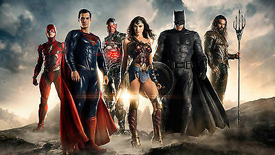 "Justice League LAMINATED POSTER 61x91cm (24""x36"")"
