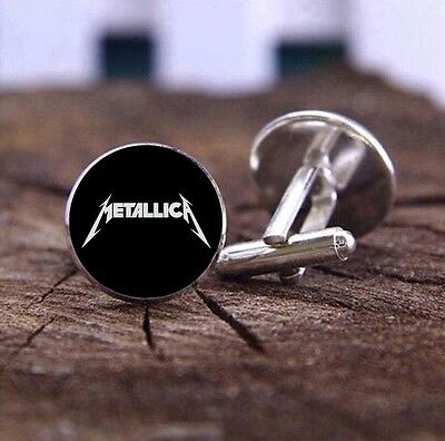 Metallica - Cufflinks - 3D Glass Lens Front - Rock Band - Mens Novelty Gift