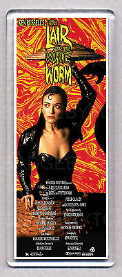 THE LAIR OF THE WHITE WORM movie poster 'WIDE' FRIDGE MAGNET  -  80's Classic!