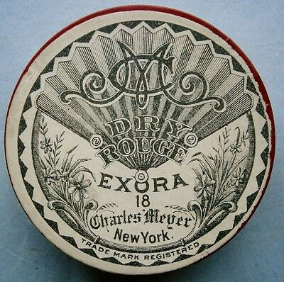 EXORA 18 DRY ROUGE by Charles Meyer, New York from the early 1900's