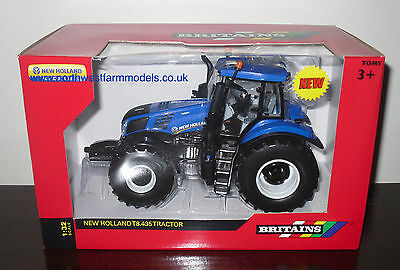 43007 Britains Farm New Holland T8.435 Model Tractor (Mib)