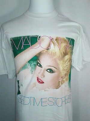 New Vintage MADONNA 1990's bedtime stories T-SHIRT 90s screen stars real vintage
