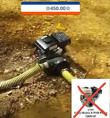325gpm High Pressure dredge motor pump 26lbs Free shipping in the lower 48