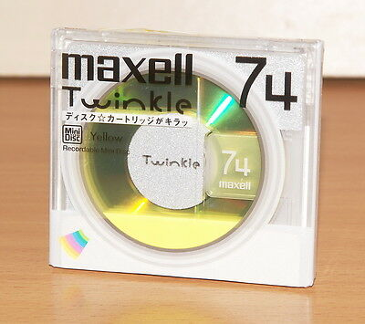 minidisc MAXELL Twinkle MD 74