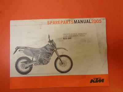 GENUINE KTM Parts Book/Catalogue: 625 SXC 2005