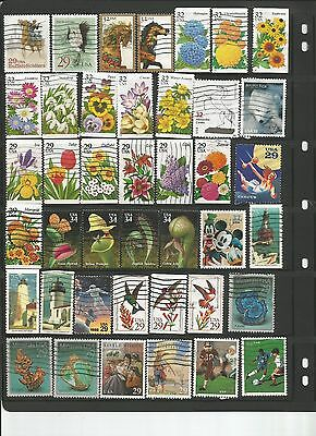 332 Different Used U.S. Setenant Stamps