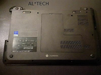 HP 255 G2 Base bottom case cover with speakers and memory doors 747112-001
