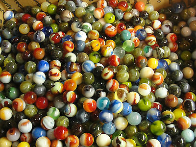 2 Pounds Dave McCullough marbles many early Classics PLUS 1/2 Doz 2008 Marleys