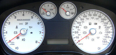 Ford Focus Mk2 Petrol (2005 to early 2008) White Dials