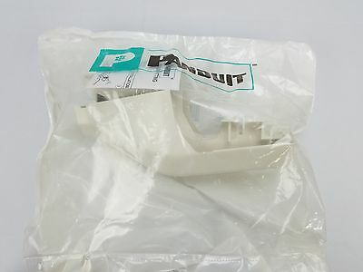 Panduit Tgtriw Tg To T-45 Transition Fitting For Wireway Raceway Off White