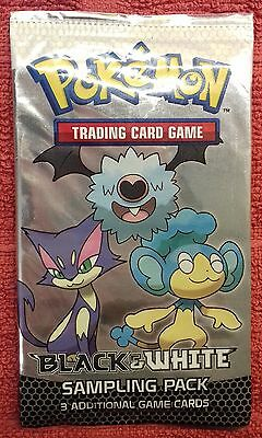 Rare Black & White base set sampling pack, new & sealed Pokemon cards 2011