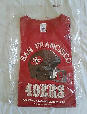 Officially Licenced NFL San Francisco 49ers Sweater 80s Sweater New Tag Medium
