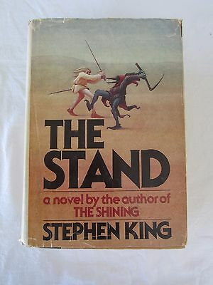 The Stand by Stephen King 1978 Hardcover 1st Edition HC/DJ