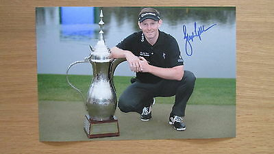 "signed 2014 Ryder Cup Golfer "" Stephen Gallacher "" 12 x 8 photo (PROOF) WITH COA"