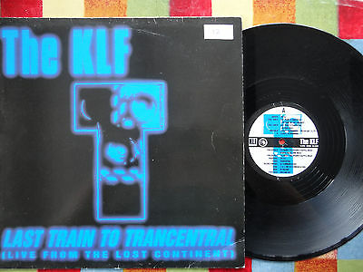 """The KLF Last Train to Transcentral 12"""" Single 1991 **EX**"""