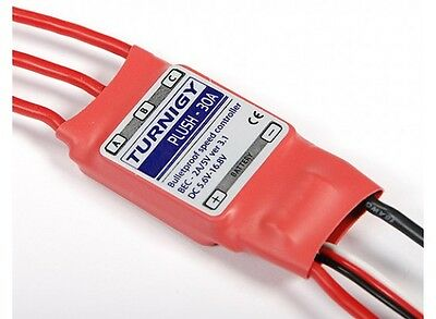 Turnigy Plush 30A Brushless ESC Speed Controller with 2A BEC