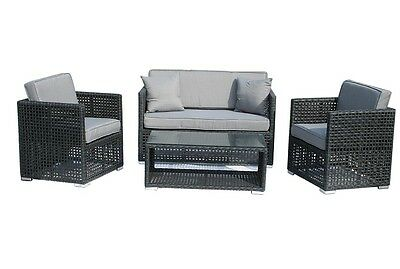 rattan garten m bel gartenset polyrattan sitzgruppe gartengarnitur lounge ancona eur 319 50. Black Bedroom Furniture Sets. Home Design Ideas