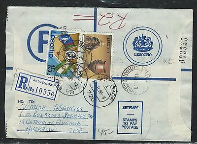 Lesotho (P1910B) 1980  Rle Uprated 15S+4S Alwynskop To Hillrrow