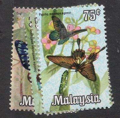 Malaysia Butterfly SG 64-7 MNH (1dis)