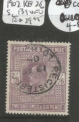 Great Britain 1902 KE 2/6 SC 139 VFU (4cqe)