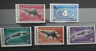 SURINAM 1964 - SPACE PLANE - COMPLETE SET - MNH Stamps - r3b401