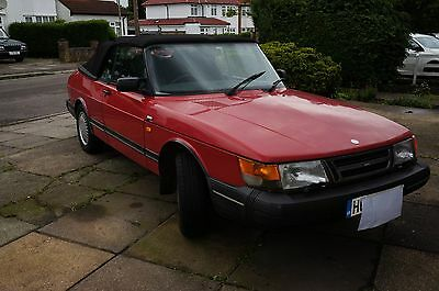 Classic Saab 900 I  Convertible . Automatic . Electric Roof  Running Project