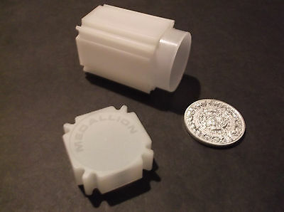 COINSAFE Coin Tubes - Medallion - 43mm - suitable for USA and Canada