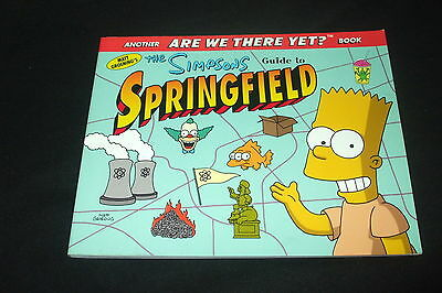 Matt Groening - The Simpsons  Guide to Springfield - Another ARE WE THERE YET?