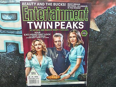 Twin Peaks. Entertainment Weekly #1459. March 2017. Rare.