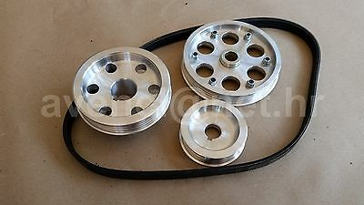 Autobianchi A112 Abarth Fiat 127 850 Sport Fiat 600 Engine Pk Ribbed Pulley Kit