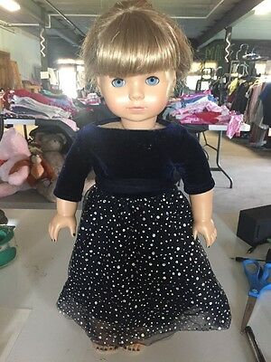American Girl Kirsten (with cut hair) & Dress