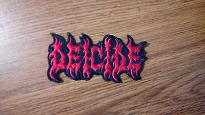 Deicide,iron O Nred Embroidered Patch