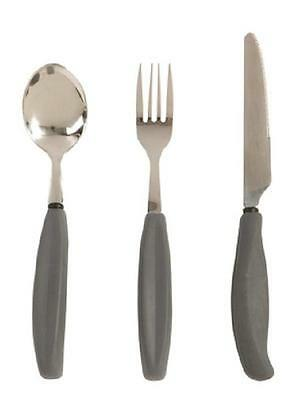 Large Soft Grip Assist Cutlery - Knife, Fork or Spoon