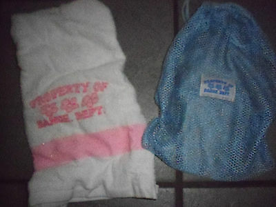Property Of Dance Department Bag With Matching Towel Never Used